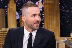 Ryan Reynolds buzzcut