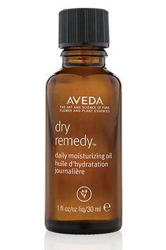 Aveda Dry Remedy Moisturizing Oil: Keeps hair looking soft, moisturized and healthy