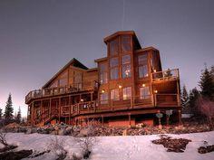 Exquisite rustic mountain retreat in California: Ski Slope