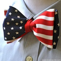 Our Stars & Stripes American Flag bow tie is the #1 selling bow tie of all time first introduced by us 24 years ago!  We wanted to add some movement to the flag motif to create movement that catches the eye and really adds to the whole hoisted flag effect. This is a limited edition bow tie so buy yours today before they are gone forever!  Www.bowrieclub.com (Old Glory) . . . . . . . . . . . . . . .  #bowtie #bowties #thebowtieclub #handmade #bowtiethursday #usa #bowtiegame #bowtielife…
