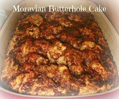 Moravian Butterhole Cake
