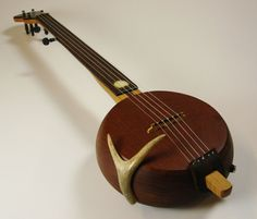 Fine Individually Crafted 5 String Appalachian Mountain Banjo - Spirit of the Deer - Grant Custom Banjos - Nantahala, NC - USA