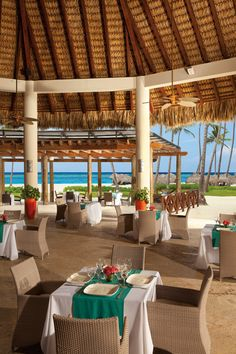 Beach Vacations at the Now Larimar Punta Cana. Great Beach with Mature Palm Trees.