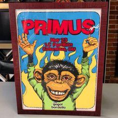 Primus print custom framed with UV glass and Larson-Juhl Custom Frames Thornhill! #art #pictureframing #customframing #denver #colorado #primus