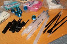 DIY Crafts Home Decor   Doodle Craft...: Doctor Who Week #5: Sonic Screwdriver DIY!