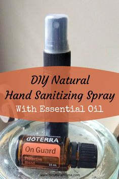 Hand Sanitizing DIY Natural Hand Disinfection Spray - Just Live Today Your Nat .Hand Sanitizing DIY Natural Hand Disinfectant Spray - Just Live Today Your Natural Make Your Own DIY Hand Disinfectant Spray With On Guard Essential Oil, Best Essential Oils, Essential Oil Blends, Essential Oil Spray, Galaxy Slime, Alcohol En Gel, Alcohol Free, Natural Hand Sanitizer, Home Made Hand Sanitizer