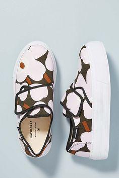 Slide View: Marimekko Slip-On Sneakers