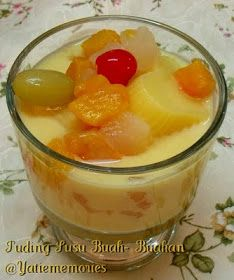 Resepi Puding Fruit Cocktail