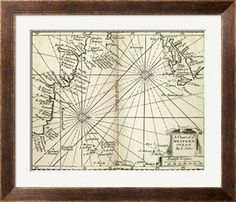 The Western Ocean Giclee Print by I. Seller at Art.com