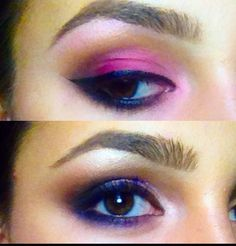 Phone quality ! Two different make-up techniques ..love them both!