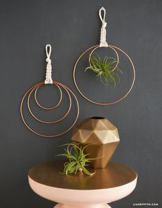 DIY macrame wall art from MichaelsMakers  Lia Griffith