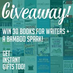 Get all 30 of the recommended books in your choice of either print or ebook plus a Bamboo Spark OR win a $250 Amazon Gift Card! All confirmed entrants receive Instant Gifts! Sponsored by Prose on Fire.