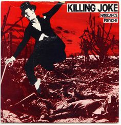 Wardance/Pssyche by Killing Joke Lp Cover, Cover Art, Music Covers, Album Covers, Art Of Noise, Berlin, The New Wave, Music Artwork, Post Punk