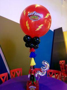 Power Rangers Samurai, Power Rangers Dino, Dinosaur Birthday Party, 6th Birthday Parties, 4th Birthday, Power Ranger Party, Power Ranger Birthday, Kendall Birthday, Pawer Rangers