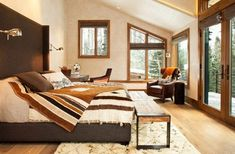 Moody Cabin 13 Mountain Lodge Blending Rustic and Modern Details in Colorado: Moody Cabin