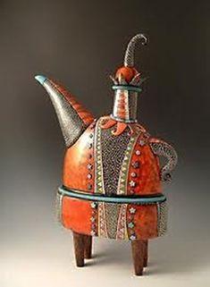 Dancing Man Teapot