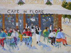 Cafe au lait et Tarte Tatin    fineartamerica.com