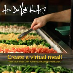 Hu Hot ~ Choose your meat, veggies, sauce and more and then watch as it's cooked on the large grill! Yummy!
