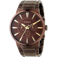 Montre Fossil FS4357 - Montre Chrono Acier Homme  - marque : Fossil La marque FOSSIL, créée en 1984, propose des montresalliant technologie et style vintage afin de satisfaire les amateurs de montres, en accord avec les tendances actuelles.Ce... prix : 149.00 €  chez Bijourama #Fossil #Bijourama