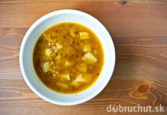 Cesnaková polievka s pohánkou
