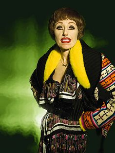 I absolutely love Cindy Sherman and her one-woman show. Amazing pictures for Balenciaga at Fashion's Night Out.