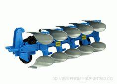 Lemken Plough Vario V500 C Bruder 02331