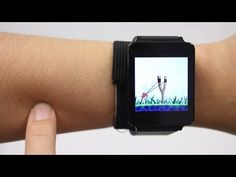 SkinTrack Transforms Your Skin Into A Smartwatch User Interface (video) - Geeky Gadgets Technology World, Futuristic Technology, Wearable Technology, Technology Gadgets, Tech Gadgets, Technology Updates, Assistive Technology, Smartwatch, News Articles For Kids