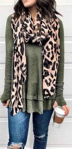 I'm back sharing the most popular items of the week and of course these UGG booties are still on the list! They're definitely a fan favorite Casual Fall Outfits, Fall Winter Outfits, Autumn Winter Fashion, Cute Outfits, Leopard Print Outfits, Leopard Print Scarf, Fashion Outfits, Womens Fashion, Ladies Fashion