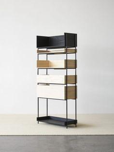 Vivlio es un sistema modular de estanterías diseñada entre Chris L. Halstrøm y Margrethe Odgaard. Chris L.Halstrøm, diseñadora de muebles,…