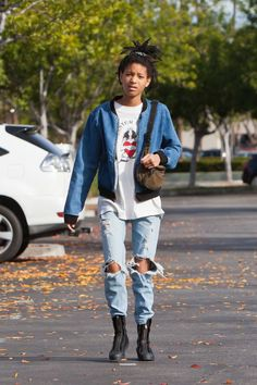 How to dress like your favorite celebs for under $250: Willow Smith