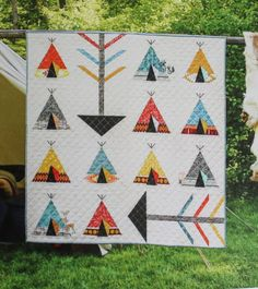 Quilt Books and other sewing gift ideas Mother's Day Sewing Gifts + New Quilt Books Southwestern Quilts, Indian Quilt, Baby Quilt Patterns, American Quilt, Boy Quilts, House Quilts, Small Quilts, Quilting Designs, Quilting Templates