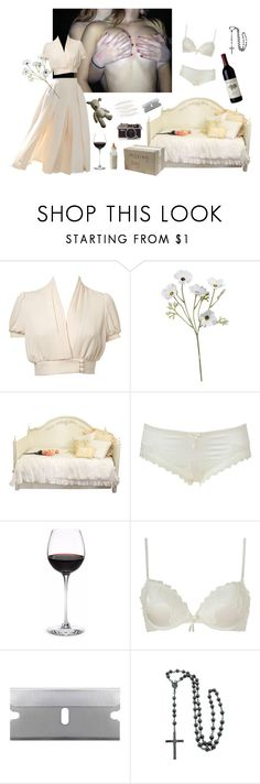 """girls"" by vomitmom ❤ liked on Polyvore featuring Miss Selfridge, B. Ella, Elle Macpherson Intimates, Sparco and Eternally Haute"