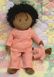 'Nighty-Night' Soft Black Boy Doll