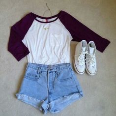Image via We Heart It #cloth #fashion #girly #outfit #shoes #short #summer