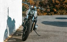 Kawasaki KZ750 Street Tracker Rat #motorcycles #streettracker #motos | caferacerpasion.com