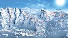 Ski area map Location Ski, Ski Hire, Geneva Airport, Lake Annecy, Top Ski, Alpine Style, Best Ski Resorts, Area Map, Paragliding