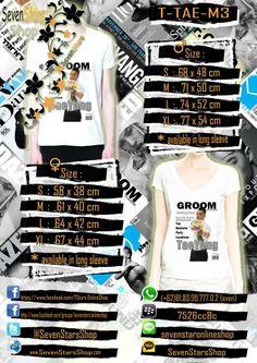 T-Shirt Taeyang V Neck M3