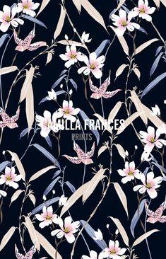 Camilla Frances Prints, oriental feeling