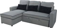 Belita Γωνιακός Καναπές Κρεβάτι με Αποθηκευτικό Χώρο 196cm*143cm 01010731