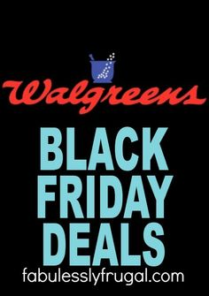 c4099d6a2f7 Get the BEST Black Friday deals at Walgreens this year! Black Friday Ads,  Best
