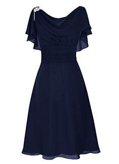 Dresstells® Short Prom Dress Cowl Bridesmaid Dress Chiffon Mother of Bride Dress Navy Size 2 Dresstells http://www.amazon.com/dp/B01A1ZRQNC/ref=cm_sw_r_pi_dp_Smcaxb0N7ZR9P