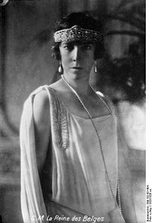 Elisabeth Gabriele of Bavaria, Queen of Belgium, 1920
