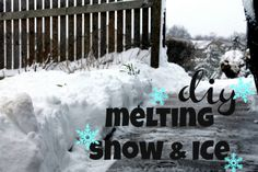 Falling snow and ice can be treacherous. It's essential to keep your sidewalk and driveway free of ice and snow to keep your loved ones safe. The following products are great for melting ice.