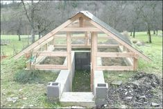 My Shed Plans - Shed Plans - Afficher limage dorigine Now You Can Build ANY Shed In A Weekend Even If Youve Zero Woodworking Experience! Now You Can Build ANY Shed In A Weekend Even If You've Zero Woodworking Experience! Greenhouse Plans, Greenhouse Gardening, Simple Greenhouse, Lean To Greenhouse, Design Jardin, Garden Design, Underground Greenhouse, Diy Storage Shed, Building A Shed