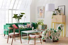 STOCKHOLM Sofa, Sandbacka green - Google Search