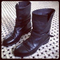 #Madewell Biker Boots