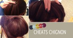 Easy Updo For Long Hair | Cheats Chignon – Quick Work Hair
