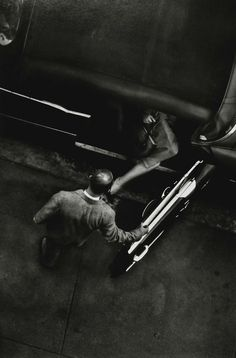 W. Eugene Smith, As From My Window I Sometimes Glance (Lower 6th Ave., New York City), 1957-58