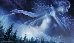 Ice queen...? Mother nature...?  You name it!