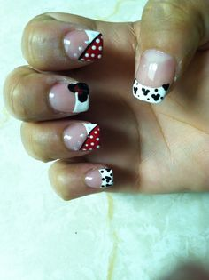 Mickie nail inspiration